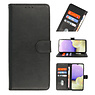 Bookstyle Wallet Cases Case for Samsung Galaxy A22 5G Black