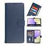 Bookstyle Wallet Cases Case for Samsung Galaxy A22 4G Navy