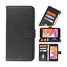 Bookstyle Wallet Cases Case for iPhone SE 2020 - 8 - 7 Black