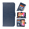 Bookstyle Wallet Cases Case for iPhone SE 2020 - 8 - 7 Navy