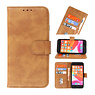 Bookstyle Wallet Cases Case for iPhone SE 2020 - 8 - 7 Brown