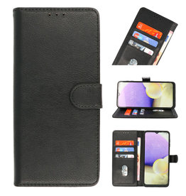 Bookstyle Wallet Cases Hoesje voor Nokia 2.4 Zwart