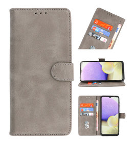 Bookstyle Wallet Cases Case for Samsung Galaxy M40 Gray