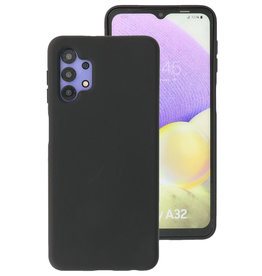 2.0mm Thick Fashion Color TPU Case Samsung Galaxy A32 4G Black