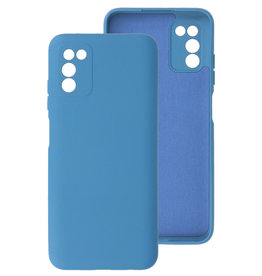 2.0mm Thick Fashion Color TPU Case Samsung Galaxy A03s Navy