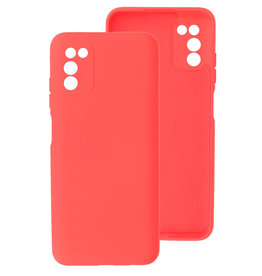 2.0mm Thick Fashion Color TPU Case Samsung Galaxy A03s Red