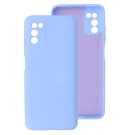 2.0mm Thick Fashion Color TPU Case Samsung Galaxy A03s Purple