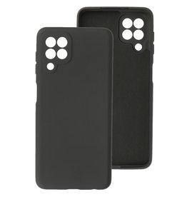 2.0mm Thick Fashion Color TPU Case Samsung Galaxy A22 4G Black