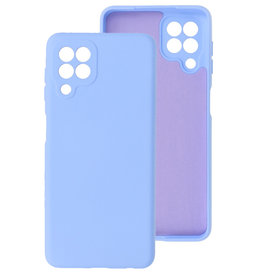 2.0mm Thick Fashion Color TPU Case Samsung Galaxy A22 4G Purple