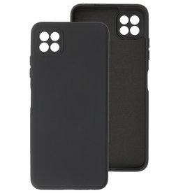 2.0mm Thick Fashion Color TPU Case Samsung Galaxy A22 5G Black