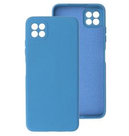 2.0mm Thick Fashion Color TPU Case Samsung Galaxy A22 5G Navy