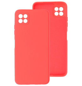 2.0mm Thick Fashion Color TPU Case Samsung Galaxy A22 5G Red