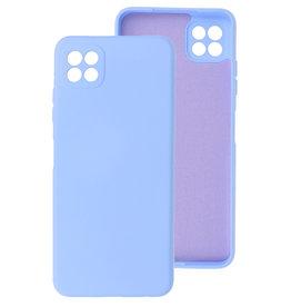 2.0mm Thick Fashion Color TPU Case Samsung Galaxy A22 5G Purple