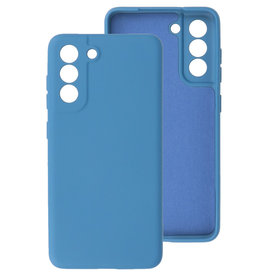 2.0mm Thick Fashion Color TPU Case Samsung Galaxy S21 FE Navy