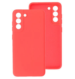 2.0mm Thick Fashion Color TPU Case Samsung Galaxy S21 FE Red