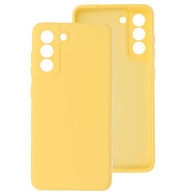 2.0mm Thick Fashion Color TPU Case Samsung Galaxy S21 FE Yellow