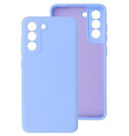 2.0mm Thick Fashion Color TPU Case Samsung Galaxy S21 FE Purple