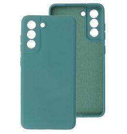 2.0mm Thick Fashion Color TPU Case Samsung Galaxy S21 FE Dark Green