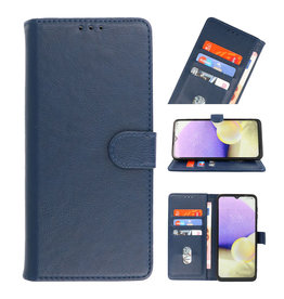Bookstyle Wallet Cases Case for Samsung Galaxy A03s Navy