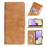 Bookstyle Wallet Cases Case for Samsung Galaxy A03s Brown