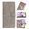 Bookstyle Wallet Cases Case for Samsung Galaxy A03s Gray