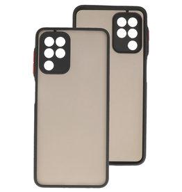 Color Combination Hard Case Samsung Galaxy A22 4G Black