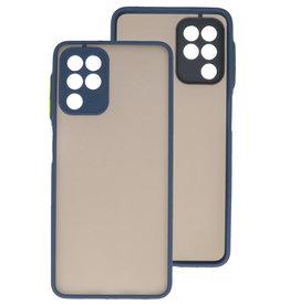 Color Combination Hard Case Samsung Galaxy A22 4G Blue