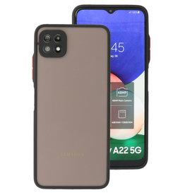 Color Combination Hard Case Samsung Galaxy A22 5G Black