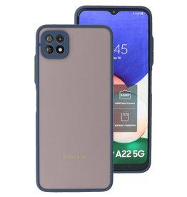 Color Combination Hard Case Samsung Galaxy A22 5G Blue