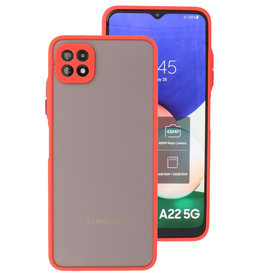 Color Combination Hard Case Samsung Galaxy A22 5G Red