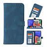 Wallet Cases Cover for Samsung Galaxy A22 5G Blue