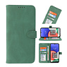 Wallet Cases Cover for Samsung Galaxy A22 5G Green