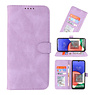 Wallet Cases Case for Samsung Galaxy A22 5G Purple