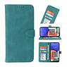 Wallet Cases Cover for Samsung Galaxy A22 5G Dark Green