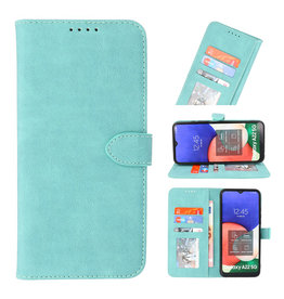Wallet Cases Case for Samsung Galaxy A22 5G Turquoise