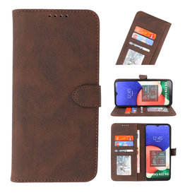 Wallet Cases Case for Samsung Galaxy A22 5G Mocca