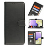 Bookstyle Wallet Cases Cover Oppo A16 - A53s 5G Black