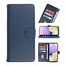 Bookstyle Wallet Cases Hoesje voor iPhone 11 Navy