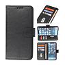 Bookstyle Wallet Cases Hoesje voor iPhone 13 Mini Zwart