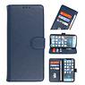 Bookstyle Wallet Cases Hoesje voor iPhone 13 Mini Navy