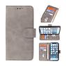 Bookstyle Wallet Cases Hoesje voor iPhone 13 Mini Grijs