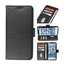 Bookstyle Wallet Cases Hoesje voor iPhone 13 Zwart