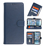 Bookstyle Wallet Cases Hoesje voor iPhone 13 Navy