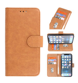 Bookstyle Wallet Cases Case for iPhone 13 Pro Brown