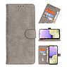 Bookstyle Wallet Cases Hoesje voor Huawei P30 Lite Grijs