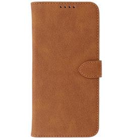 Wallet Cases Hoesje voor iPhone 13 Bruin