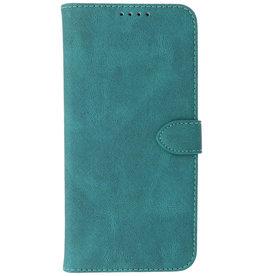 Wallet Cases Hoesje voor iPhone 13 Mini Donker Groen