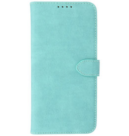 Wallet Cases Hoesje voor iPhone 13 Mini Turquoise