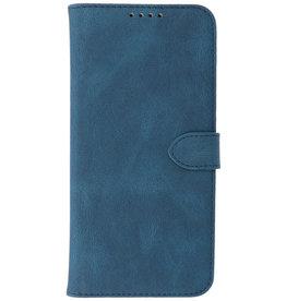 Wallet Cases Hoesje voor iPhone 13 Pro Max Blauw