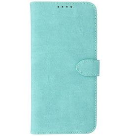 Wallet Cases Hoesje voor iPhone 13 Pro Max Turquoise